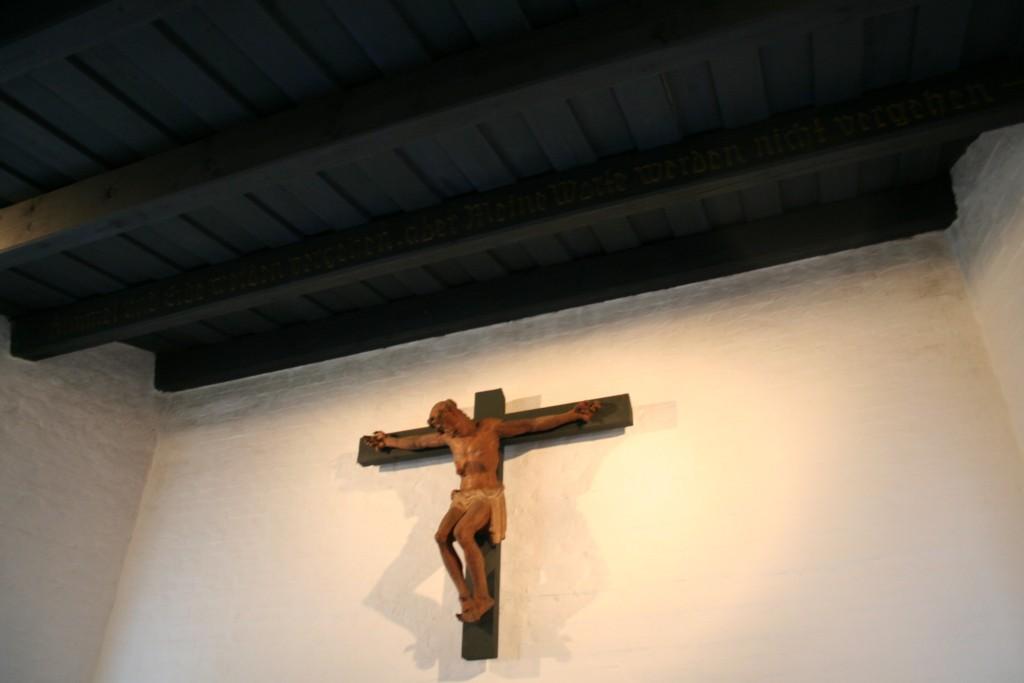Deckenbalken in der Christuskirche