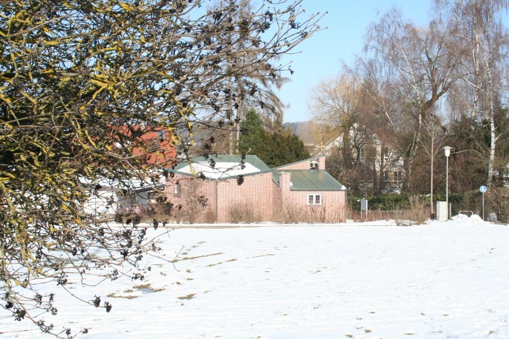 Christuskirche im Winter
