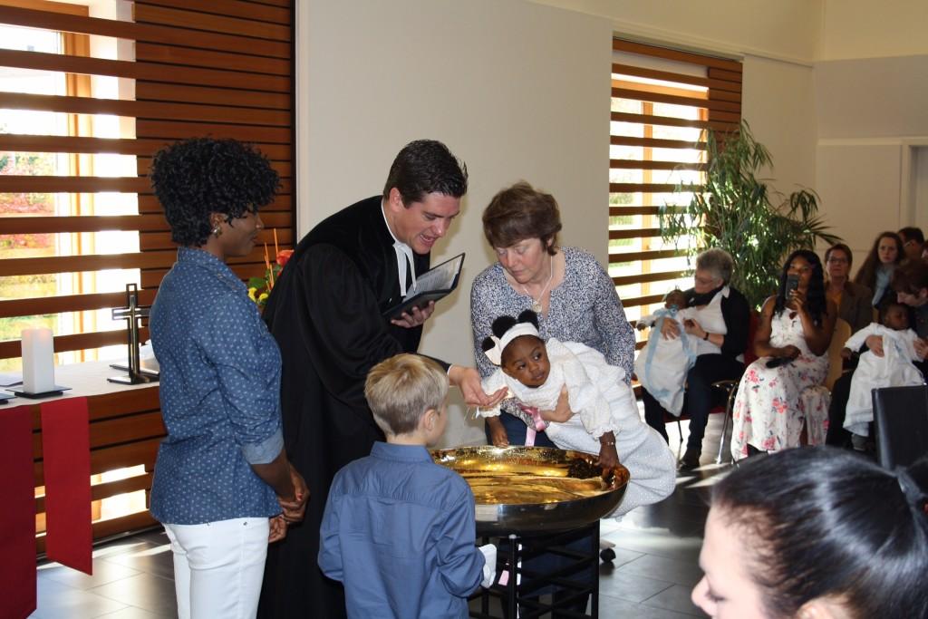 Deutsch-Afrikanische Taufe